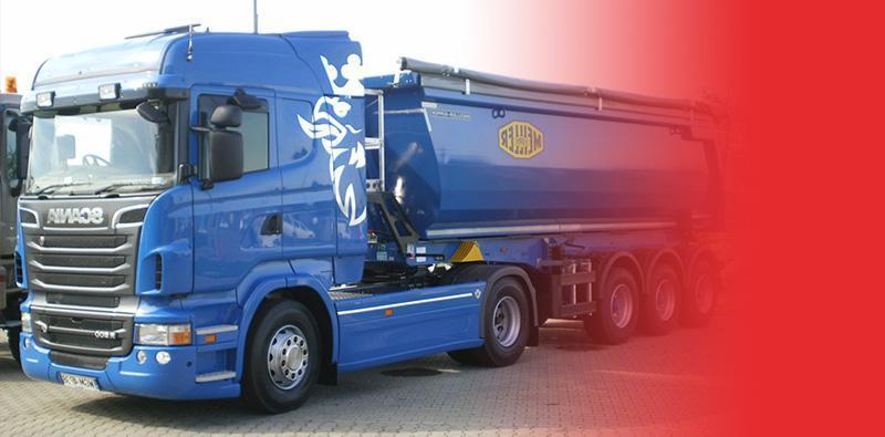 Niebieski samochód ciężarowy